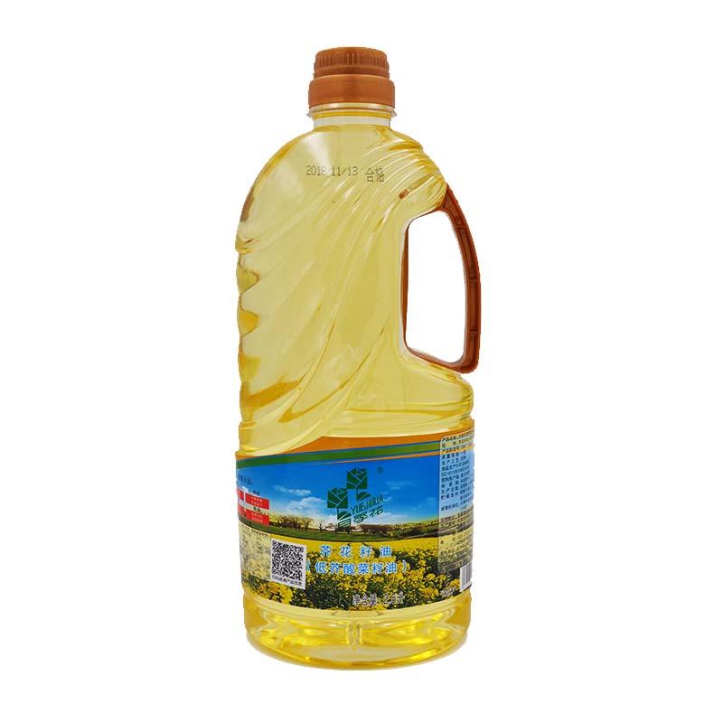 月季花牌芥花籽油2.5L
