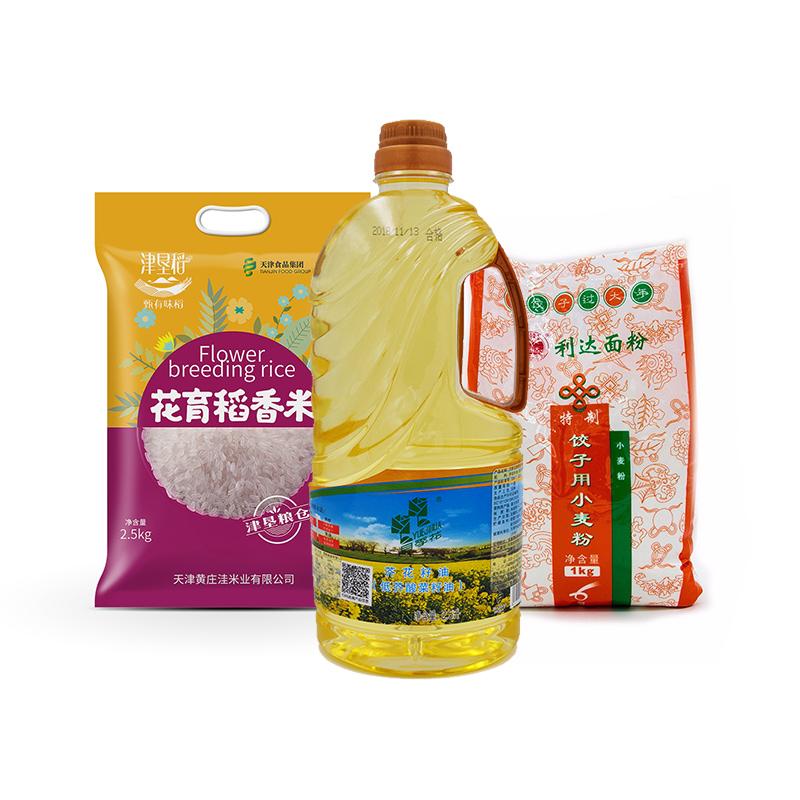 天食米面油组合共6kg
