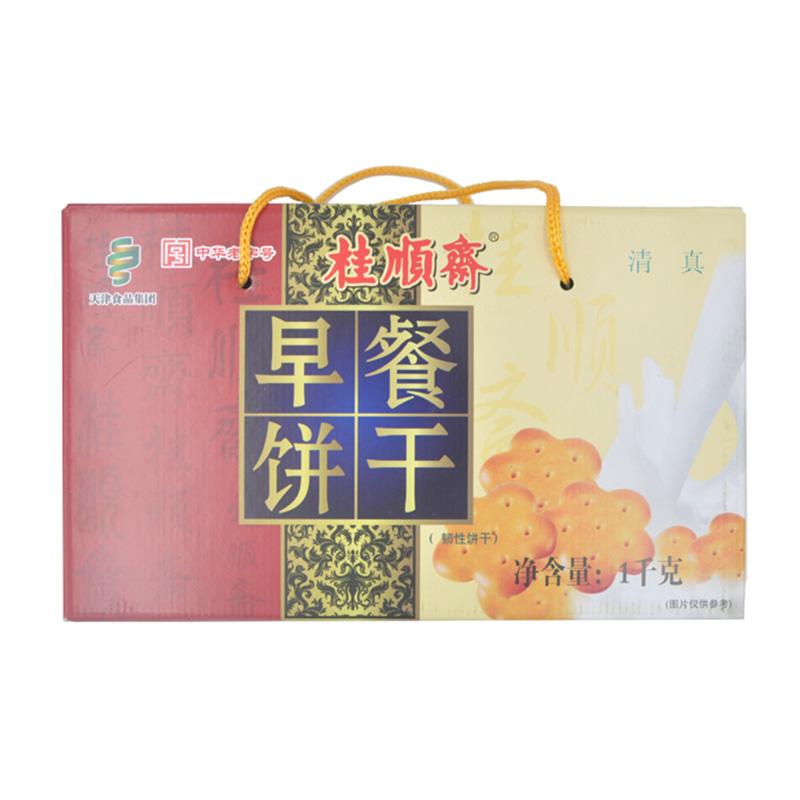 桂顺斋营养早餐饼干1000g