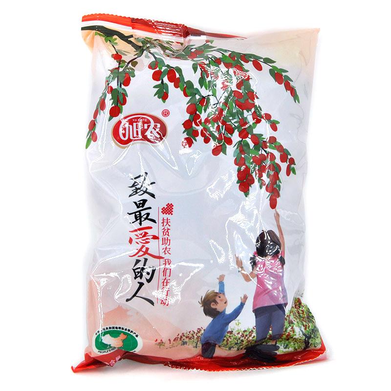 【扶贫商品】靖远大西北小口大枣 500g 背封袋装