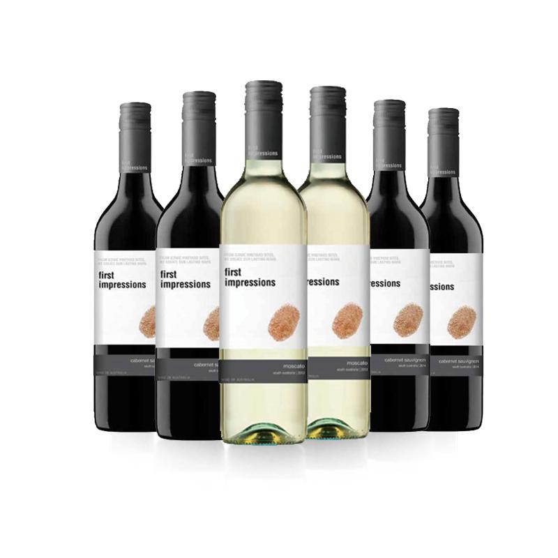 初见葡萄酒系列6瓶混合装   750ml*6